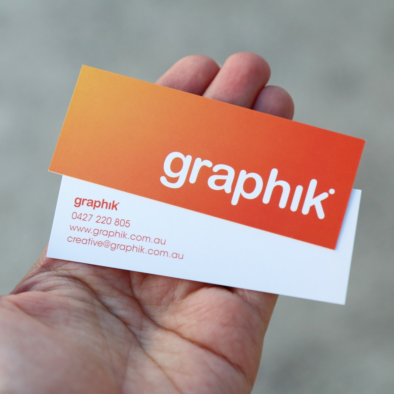 Business Cards | Newcastle | the yard creative